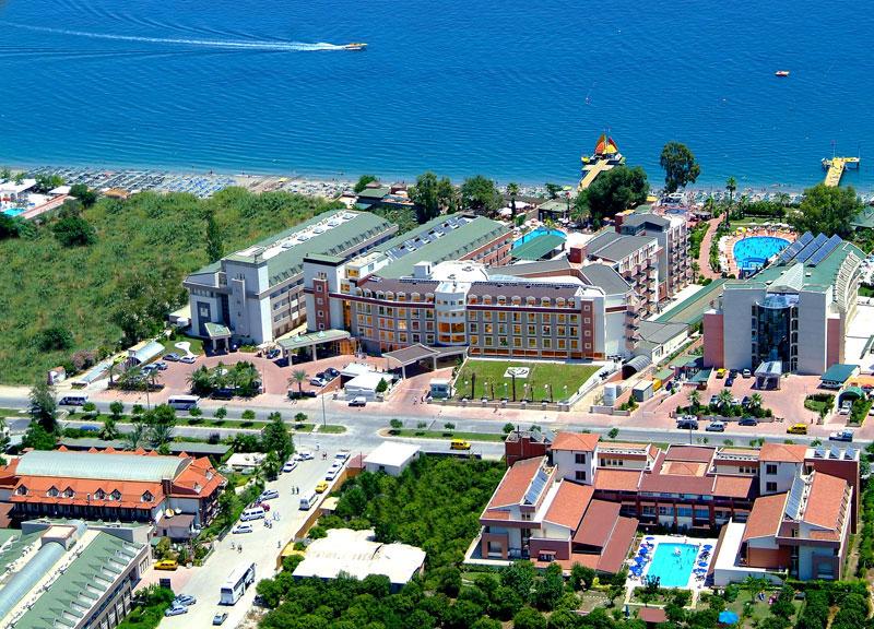 Armas g l beach hotel balay otelimiz vera gelinlik for Hotel pistolas